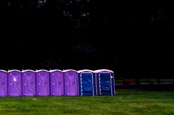 portable toilets in Novato, CA